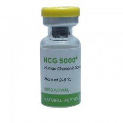 HCG - 5000 iu/amp PG - Natural Peptides - USA